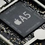 AppleデュアルコアA5チップ