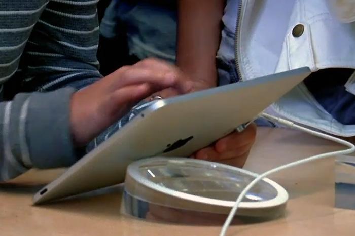 iPadの生産調整