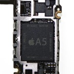 「iPhone 4s」A5プロセッサ