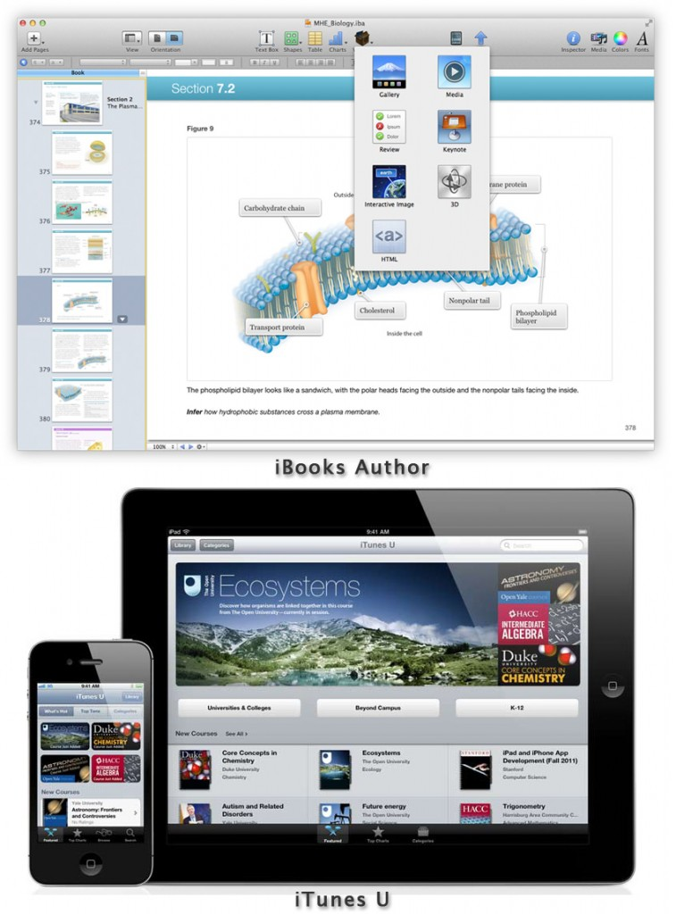 iBooks AuthorとiTunes U