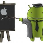 <米スマホ市場>iPhoneがAndroidを上回る