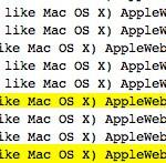 iOS 6搭載iPadサーバログ