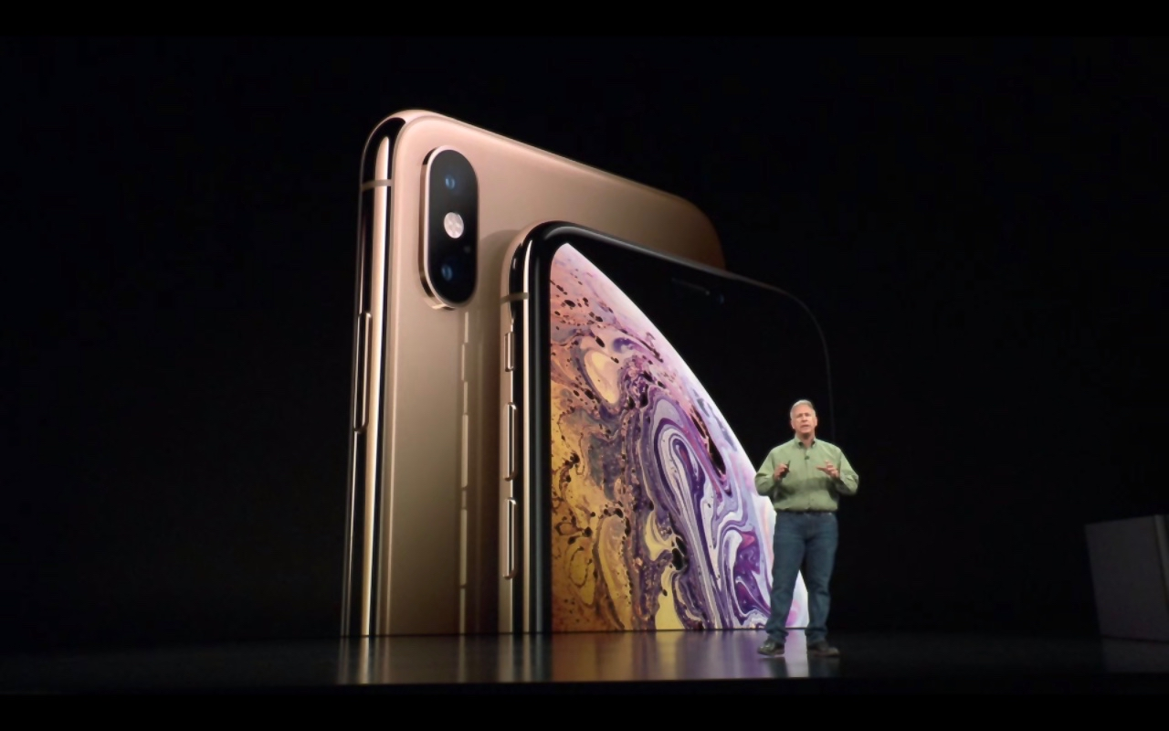 Phil Schiller announced iPhone Xs and iPhone Xs Max