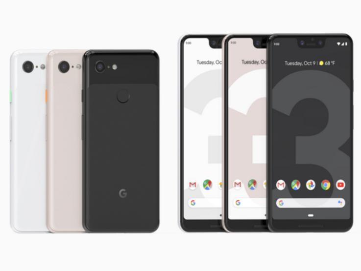 Google Pixexl 3 & Pixexl 3 XL